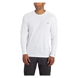 Carhartt Force Extremes Long Sleeve T-Shirt White