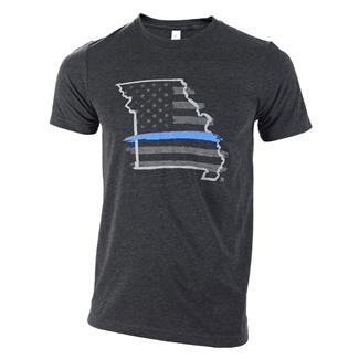 TG TBL Missouri T-Shirt Charcoal Black