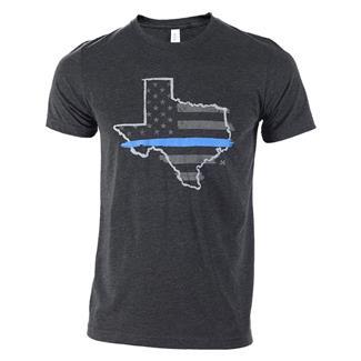 TG TBL Texas T-Shirt Charcoal Black