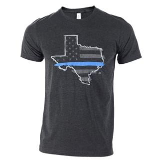 TG TBL Texas T-Shirt Charcoal Black