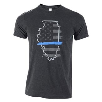 TG TBL Illinois T-Shirt Charcoal Black