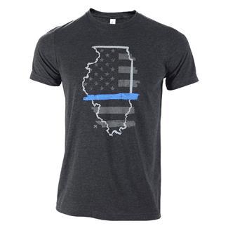 TG TBL Illinois T-Shirt Charcoal Black