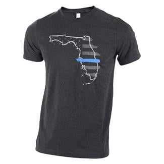TG TBL Florida T-Shirt Charcoal Black