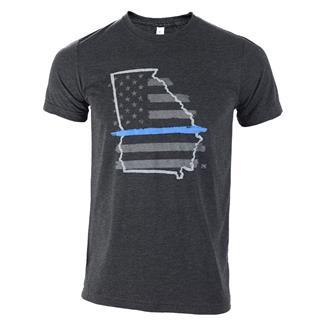 TG TBL Georgia T-Shirt Charcoal Black