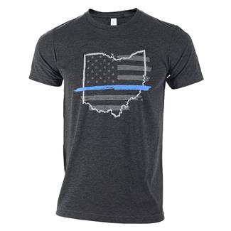 TG TBL Ohio T-Shirt Charcoal Black
