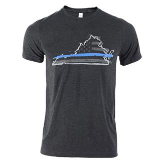 TG TBL Virginia T-Shirt Charcoal Black