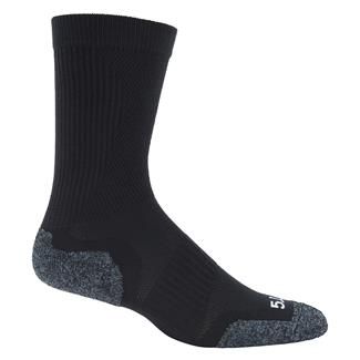 5.11 Slipstream Crew Socks Black