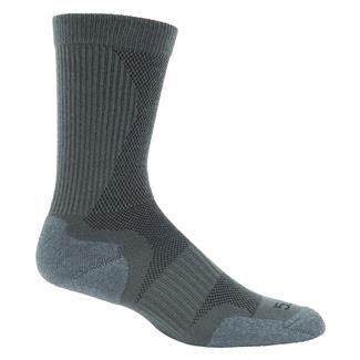 5.11 Slipstream Crew Socks Gunmetal