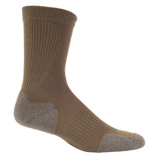 5.11 Slipstream Crew Socks Dark Coyote