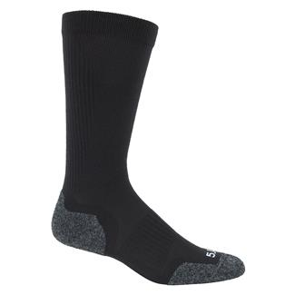 5.11 Slipstream OTC Boot Socks Black