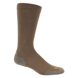 5.11 Slipstream OTC Boot Socks Dark Coyote