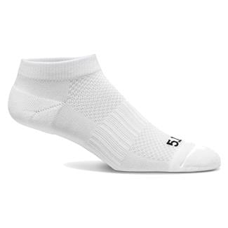 5.11 PT Ankle Socks - 3 Pack White