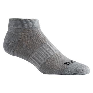 5.11 PT Ankle Socks - 3 Pack Heather Gray