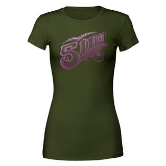 5.11 Scrolly T-Shirt Military Green