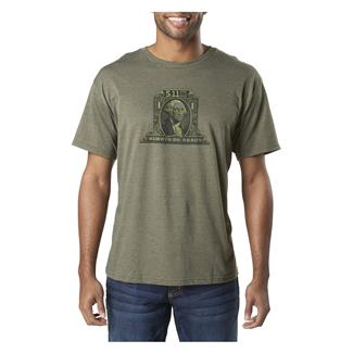 5.11 Tactical George T-Shirt Military Green Heather