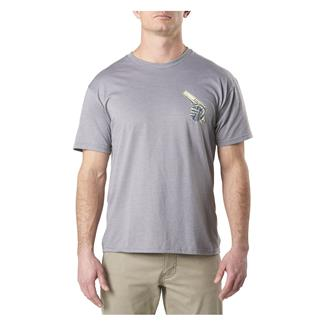 5.11 Cold Dead Hands 45 T-Shirt Gray Heather