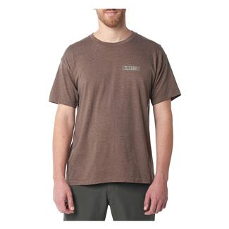 5.11 MOLLE America T-Shirt Brown Heather
