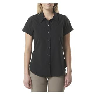 5.11 Freedom Flex Woven Short Sleeve Shirt Black