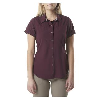 5.11 Freedom Flex Woven Short Sleeve Shirt Napa