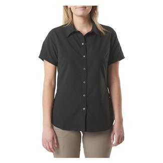 5.11 Corporate Woven Short Sleeve Shirt Black