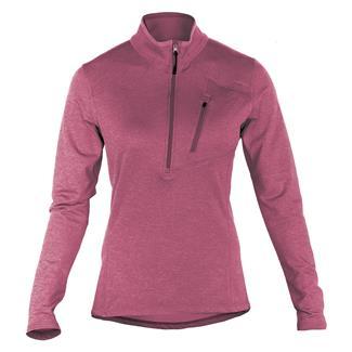 5.11 Long Sleeve Glacier Half Zip Shirt Berry