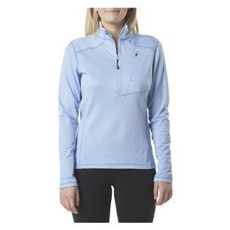 5.11 Long Sleeve Glacier Half Zip Shirt Skyfall