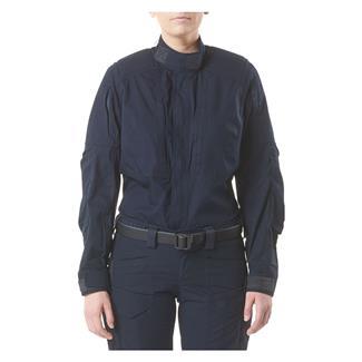 5.11 XPRT Tactical Long Sleeve Shirt Dark Navy