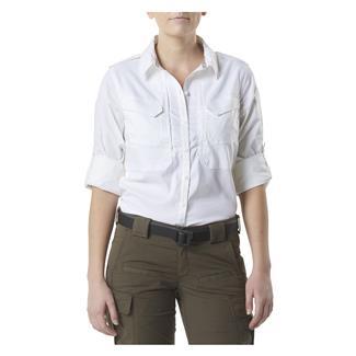 5.11 Spitfire Shooting Long Sleeve Shirt White
