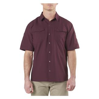 5.11 Freedom Flex Short Sleeve Woven Shirts Napa