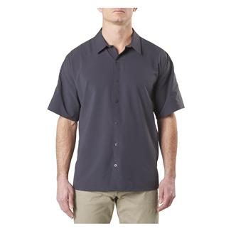 5.11 Corporate Woven Short Sleeve Shirt Charcoal