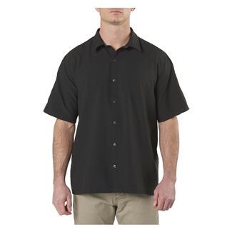 5.11 Corporate Woven Short Sleeve Shirt Black