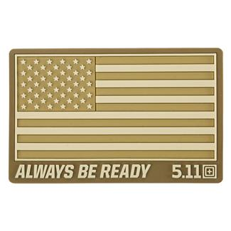 5.11 USA Patch Coyote