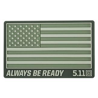 5.11 USA Patch OD Green