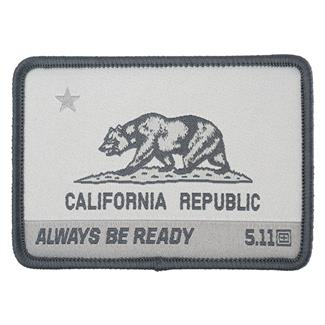 5.11 CA State Bear Patch Double Tap