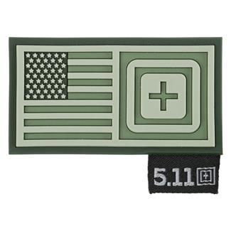 5.11 Shorts Stack Patch OD Green