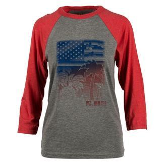 5.11 Women's Tropic Thunder T-Shirt Red