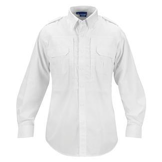 Propper Lightweight Long Sleeve Tactical Dress Shirts White
