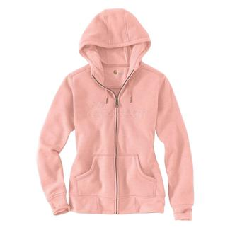Carhartt Clarksburg Zip Hoodie Peach Parfait Heather