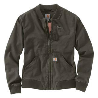 Carhartt Crawford Bomber Jacket Olive