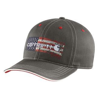 Carhartt Distressed Flag Graphic Cap Shadow