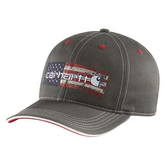 Carhartt Distressed Flag Graphic Cap Shadow