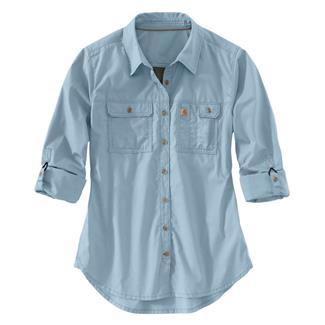Carhartt Force Ridgefield Shirt Celestial Blue