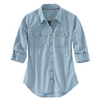 Carhartt Force Ridgefield Shirt Celestial Blue