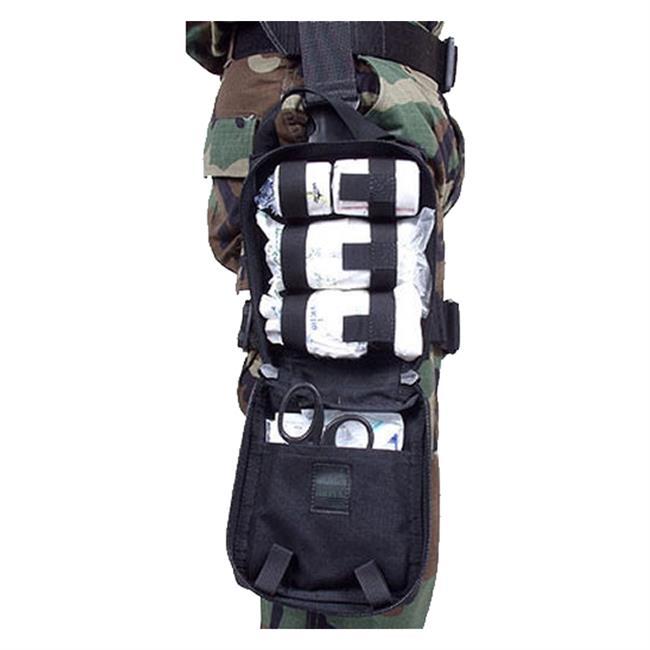 Blackhawk Omega Elite Modular Drop Leg Medical Pouch Black
