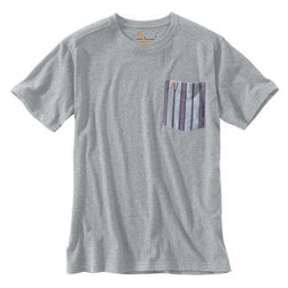 Carhartt Maddock Novelty Pocket T-Shirt Heather Gray