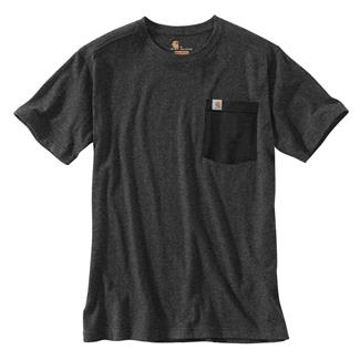 Carhartt Maddock Novelty Pocket T-Shirt Carbon Heather