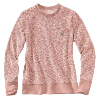 Carhartt Newberry Pocket Sweatshirt Misty Rose