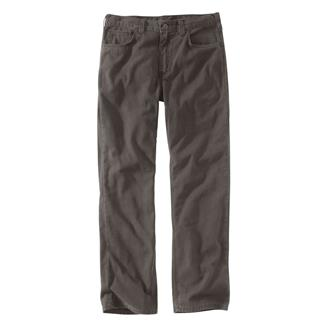 Carhartt Rugged Flex Rigby 5-Pocket Work Pants Gravel