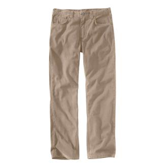 Carhartt Rugged Flex Rigby 5-Pocket Work Pants Tan