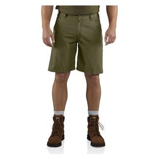 Carhartt Tacoma Ripstop Shorts Army Green